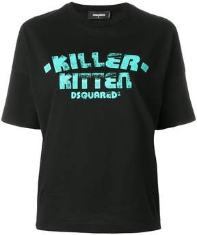 DSQUARED2 Killer Kitten T-shirt