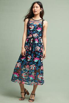 Eva Franco Stevie Tasseled Dress