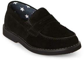 Florsheim Kids Boys) Black Rodeo Penny Jr Loafers