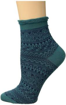 Falke Decoupage Short Sock Women's Crew Cut Socks Shoes