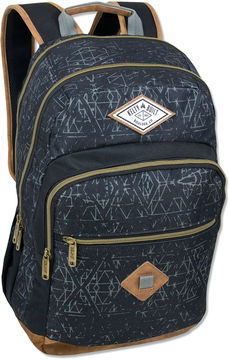 KELTY Kelty Print With Faux Leather Bottom Backpack