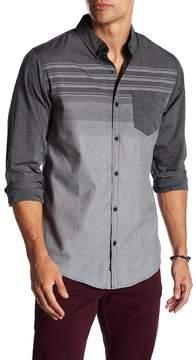 Burnside Novelty Regular Fit Striped Shirt