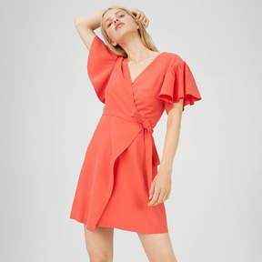 Club Monaco Geovanna Wrap Dress