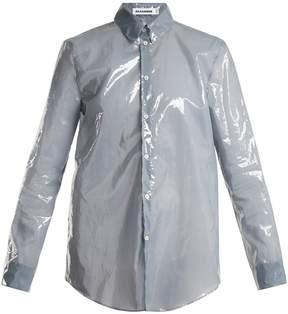 Jil Sander PU long-sleeved shirt