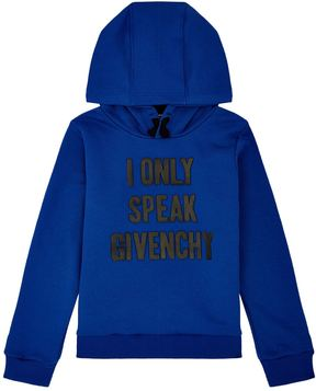 Givenchy I Only Speak Motif Hoodie