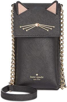 Kate Spade Cat North South Phone Crossbody