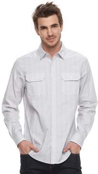 Apt. 9 Men's Premier Flex Stripe Woven Button-Down Shirt