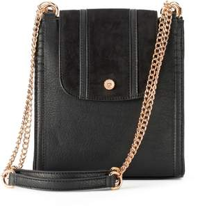 Lauren Conrad Parfum Flap Convertible Crossbody Bag