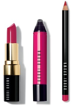 Bobbi Brown Berry Lip Trio - Pop