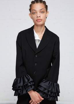 Comme des Garcons Ruffle Sleeve Jacket