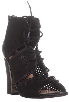 Call it SPRING Ciracia Lace-up Dress Sandals, Black.