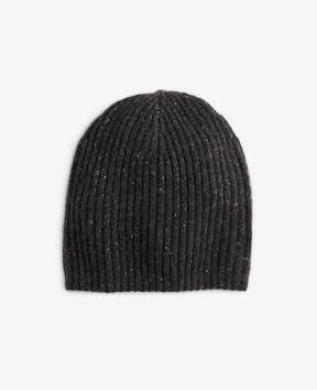 Ann Taylor Cashmere Ribbed Hat
