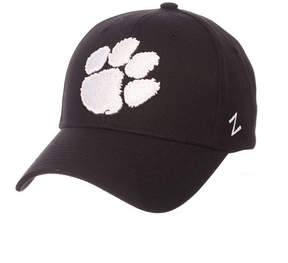 Zephyr Clemson Tigers Black & White Competitor Cap
