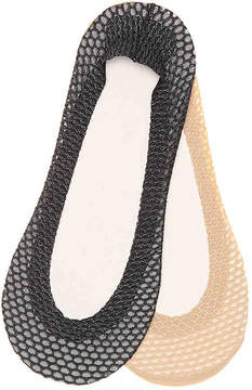 Aldo Women's Lurex Net Women's's No Show Liners - 2 Pack