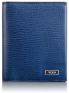 Tumi Men's 'Monaco' Leather Card Case - Blue