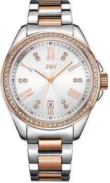 JBW Women's Capri 0.12 ctw Diamond Stainless Steel Watch J6340C