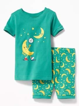 Old Navy Banana-Moon Sleep Set for Toddler Boys & Baby