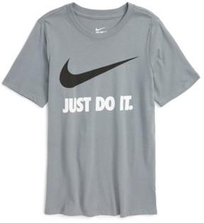 Nike Boy's Just Do It Cotton T-Shirt