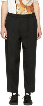 3.1 Phillip Lim Black Patchwork Trousers