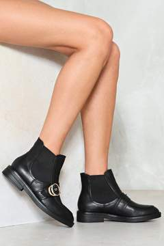 Nasty Gal Double or Nothing Chelsea Boot