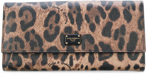 Dolce & Gabbana Continental wallet - BROWN - STYLE