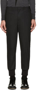 Neil Barrett Black Tuxedo Trousers