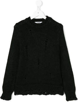 MSGM classic knitted sweater