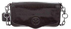 Tory Burch Leather Shoulder Bag - BLACK - STYLE