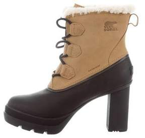 Sorel Dacie Lace-Up Ankle Boots w/ Tags