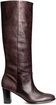 H&M Knee-high Leather Boots