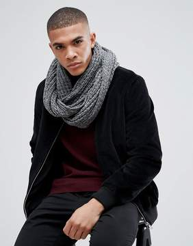 New Look Infinity scarf In Light Gray