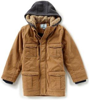 Class Club Big Boys 8-20 Long Twill Coat