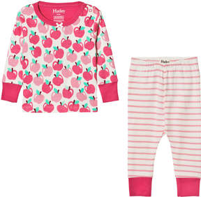 Hatley Pink Apples Print Pyjamas