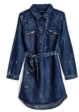 True Religion WESTERN SHIRT TODDLER/LITTLE KIDS DRESS