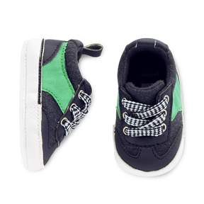 Carter's Baby Boy Lace Up Sneaker Crib Shoes