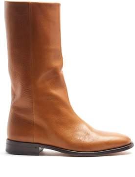 Saint Laurent Matt leather boots