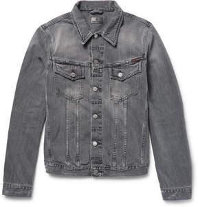 Nudie Jeans Billy Distressed Denim Jacket