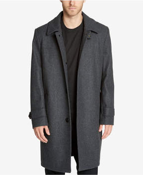Kenneth Cole Men's Epaulette Overcoat