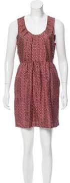 Steven Alan Silk Printed Dress