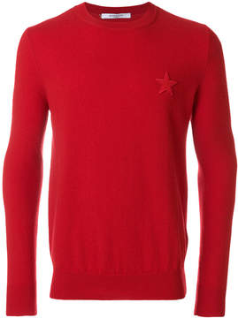 Givenchy Star patch jumper