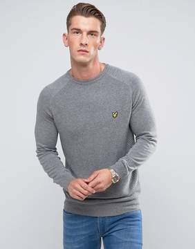 Lyle & Scott Links Sweater Gray