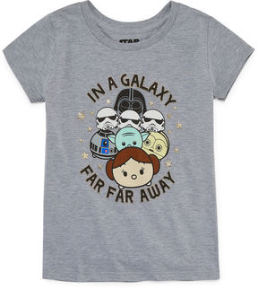 Star Wars STARWARS Galaxy T-Shirt- Girls' 7-16