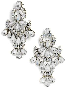 BaubleBar Symphony Crystal Statement Earrings