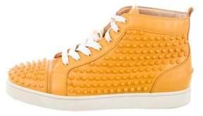 Christian Louboutin Louis Spikes Sneakers