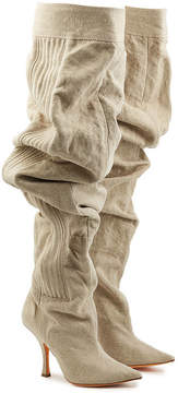 Y/Project Draped Cotton Boots