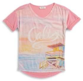 Jessica Simpson Girls Cali Knit Tee
