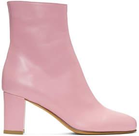 Maryam Nassir Zadeh Pink Agnes Boot