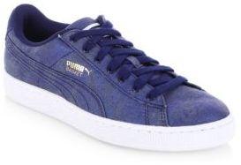 Puma Basket Denim Sneakers