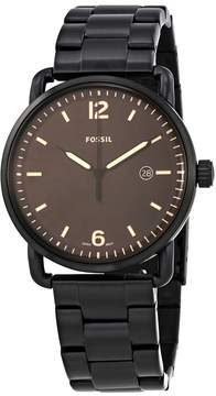 Fossil The Commuter Black Dial Men's Watch