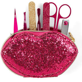 Juicy Couture Pink Sequin Lips Manicure Set